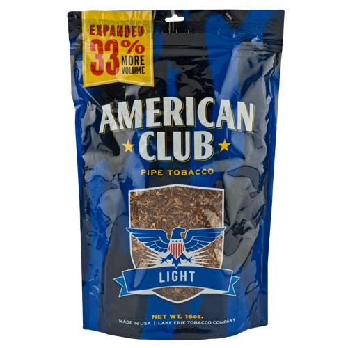 American Club Light Pipe Tobacco 16 oz. Pack