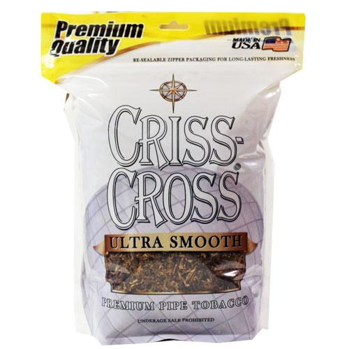 Criss Cross Pipe Tobacco Ultra Smooth 6 & 16 oz. Pack