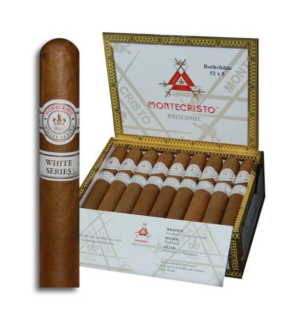 Montecristo White Series Rothchilde Cigars