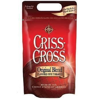 Criss Cross Pipe Tobacco Original 6 & 16 oz. Pack