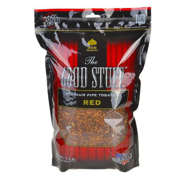 The Good Stuff Full Flavor Pipe Tobacco 6 & 16 oz. Pack