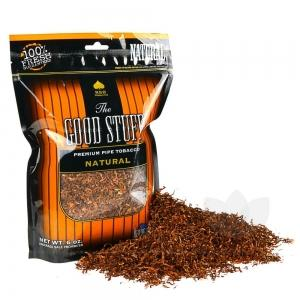 The Good Stuff Natural Pipe Tobacco 6 & 16 oz. Pack