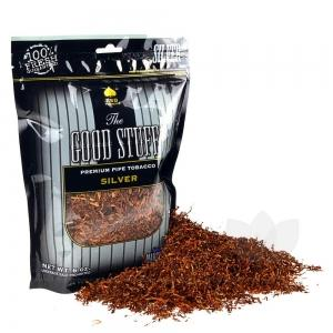 The Good Stuff Silver Pipe Tobacco 6 & 16 oz. Pack