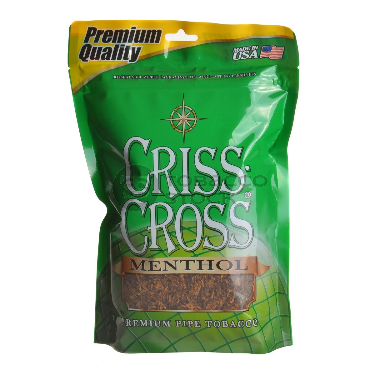Criss Cross Menthol Pipe Tobacco Pack