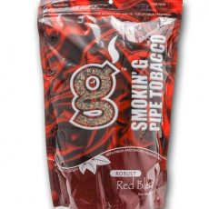 Smokin' G Pipe Tobacco 8 oz Robust Red Blend