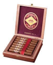 Diamond Crown Classic Robusto No. 4 Cigars