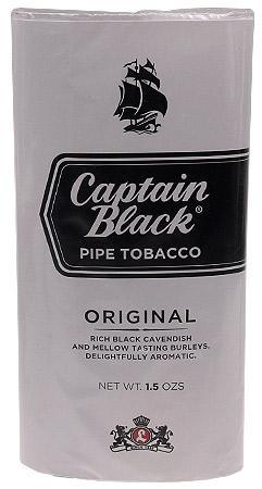Captain Black Pipe Tobacco 1.5 oz.